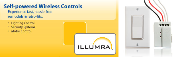 Use an ILLUMRA wireless light switch to make wireless light control simple.