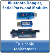 Bluetooth dongles serial ports and modules