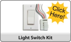 The Battery-free Wireless Light Switch -- Basic Wireless Light Switch Kit